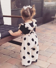 Load image into Gallery viewer, Eloise Polka Dots Dungaree