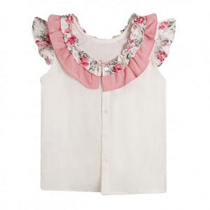 Newness Floral Blouse.