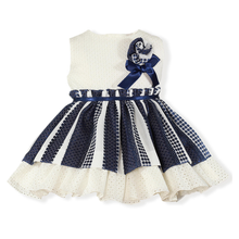 Load image into Gallery viewer, Sheila Navy Dress