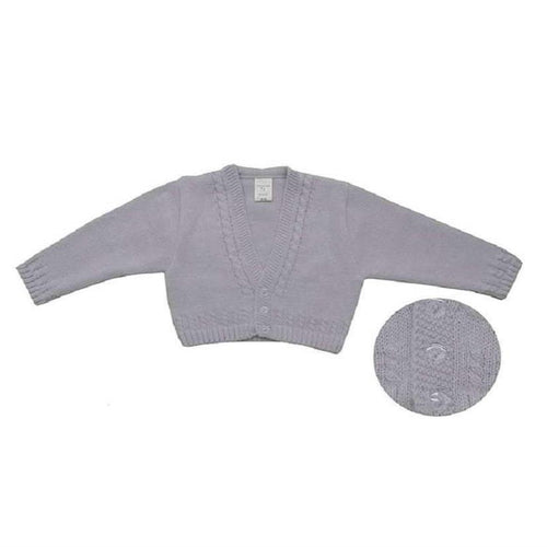 La Casita de Pepito Grey Cardigan