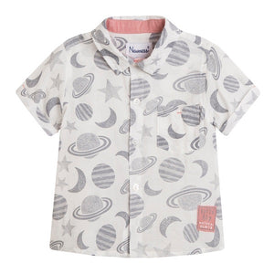 Planets Short Sleeve Shirt