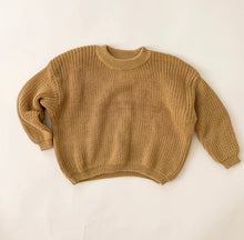 Load image into Gallery viewer, Mustard Oversized knit Jumper
