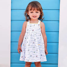 Load image into Gallery viewer, Boat Print Sleeveless Dress