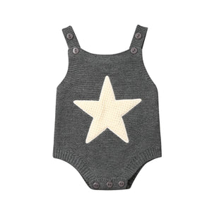 Knitted Star Romper