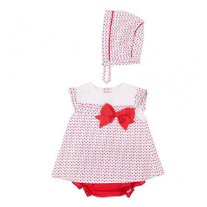 Millie dress, knickers and bonnet by Baby-Ferr