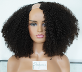 (NEW) Raw 3c/4a Curly U-Part Wig