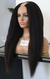 (NEW) Raw 4c Blowout Straight U-Part Wig