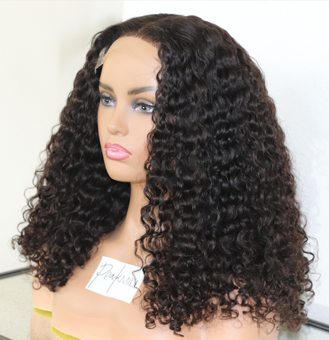 (NEW) Raw Deep Wave Closure Wig