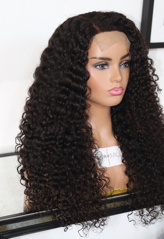 (NEW) Raw Deep Curly Closure Wig