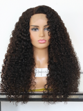 HD Raw Deep Curly Closure Wig