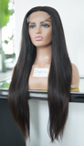(NEW) Raw Straight Closure Wig