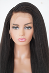 Raw 4c Blowout Straight Lace Front Wig
