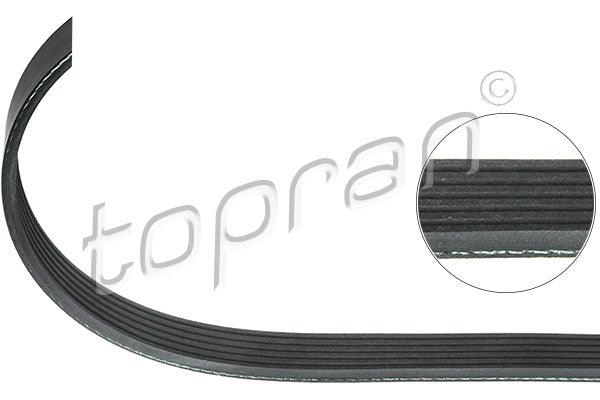 RIBBED V BELT | 06J260849D - Harrys Euro