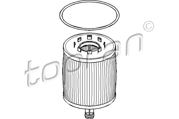 OIL FILTER DIESEL VW TOUAREG V10 07Z115562 - Harrys Euro
