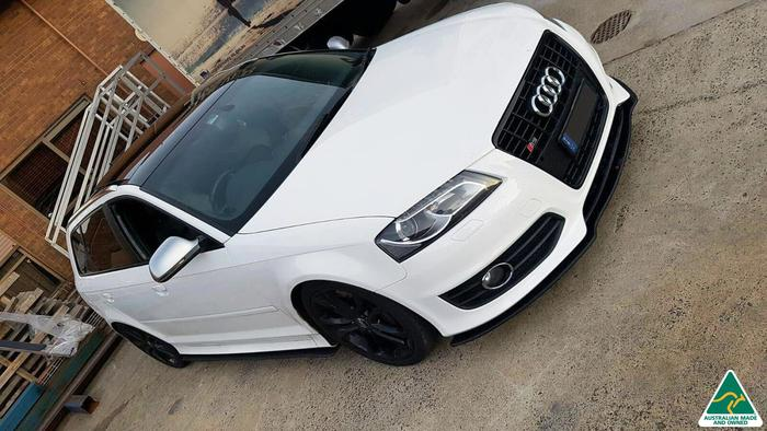 FLOW DESIGNS | AUDI S3 8P2 FRONT SPLITTER