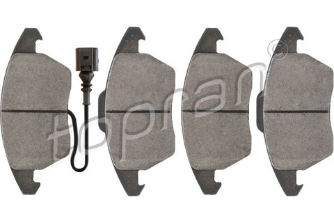 AUDI A1 A3 TT VW BEETLE CADDY CC EOS GOLF PASSAT FRONT BRAKE PAD SET 5K0698151 - Harrys Euro