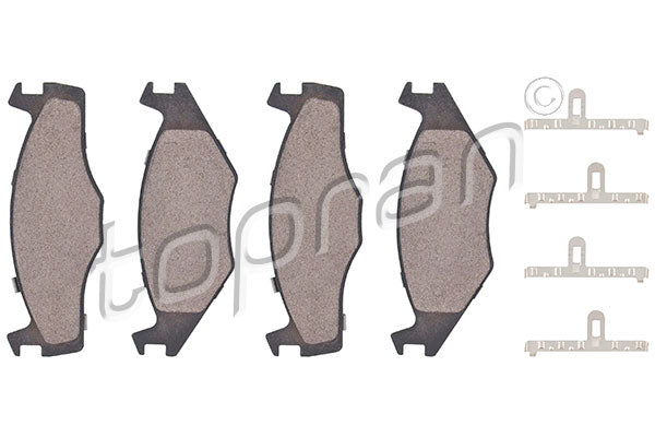 FRONT BRAKE PAD SET VW POLO 867698151 - Harrys Euro