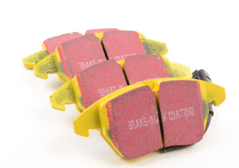 EBC YELLOWSTUFF | FRONT BRAKE PAD SET | VW GOLF MK5 / MK6 GTI - Harrys Euro