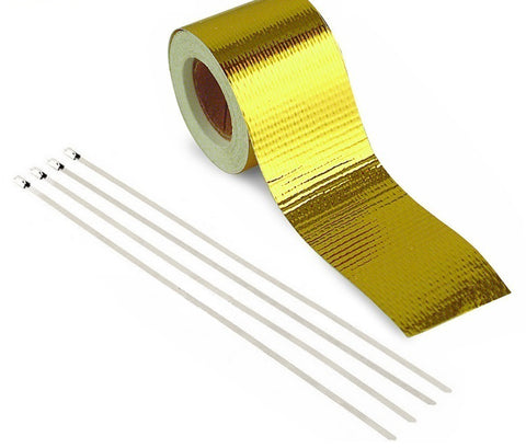 PERFORMANCE HEAT PROTECTION TAPE | 50MMX5M - Harrys Euro