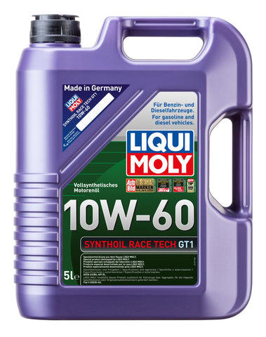 LIQUI MOLY SYNTHOIL RACE TECH GT1 10W-60 - Harrys Euro