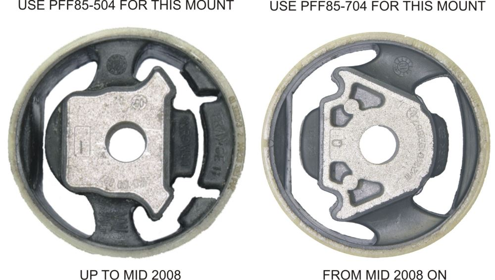 POWERFLEX TRANSMISSION MOUNT INSERT KIT PFF85-704P - Harrys Euro
