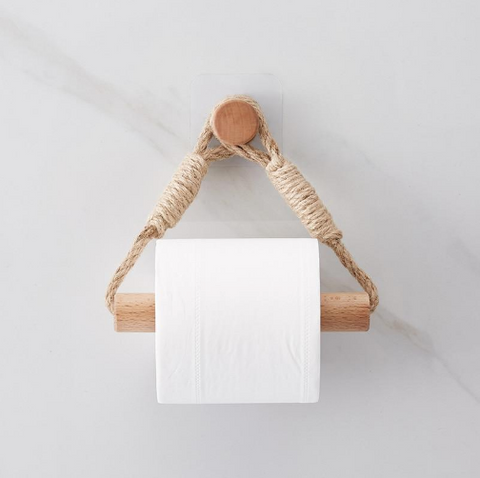 triangle rope toilet paper holder