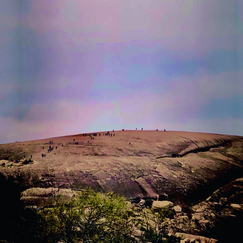 """Enchanted Rock"" (FRAMED in Silver Floater frame)"