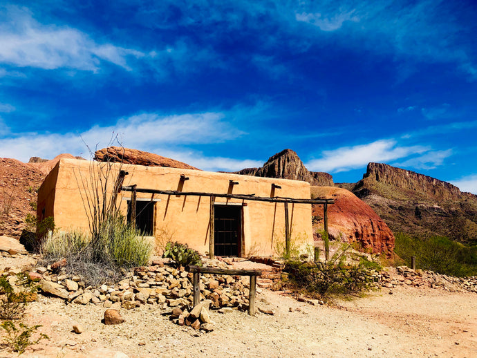 """Big Bend Movie Set"""