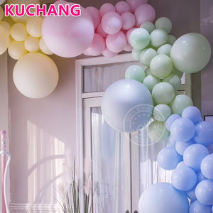 "10pcs/lot 18"" 36"" Round Macarons Color Latex Balloons Thicken Inflatable Helium Globos for Wedding Birthday Party Decorations - Magic Balloons"
