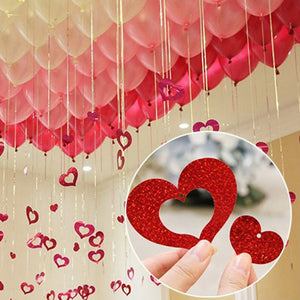 Heart Paperboard Cards Balloons Pendant - Magic Balloons