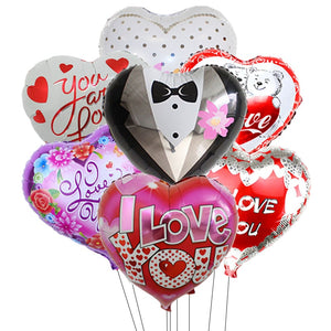Heart Foil Balloon - Magic Balloons