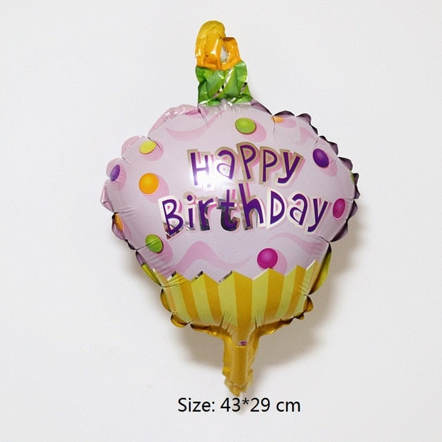 Snack Aluminium Foil Balloons II - Magic Balloons