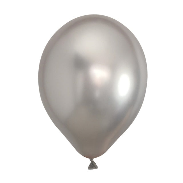 Chrome Metallic Pearly Thick Latex Balloons - Magic Balloons