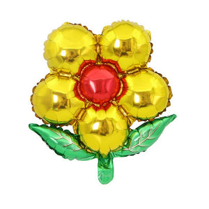 Flower Shaped Foil Balloons - Magic Balloons