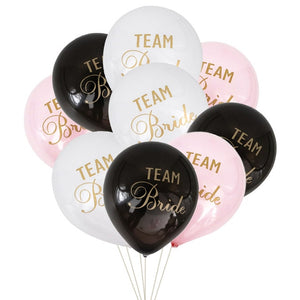 Team Bride Latex Balloons - Magic Balloons