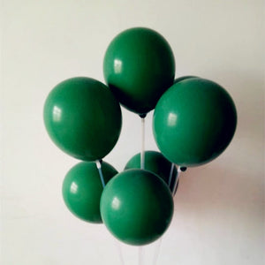 Dark Green Thick Balloons - Magic Balloons