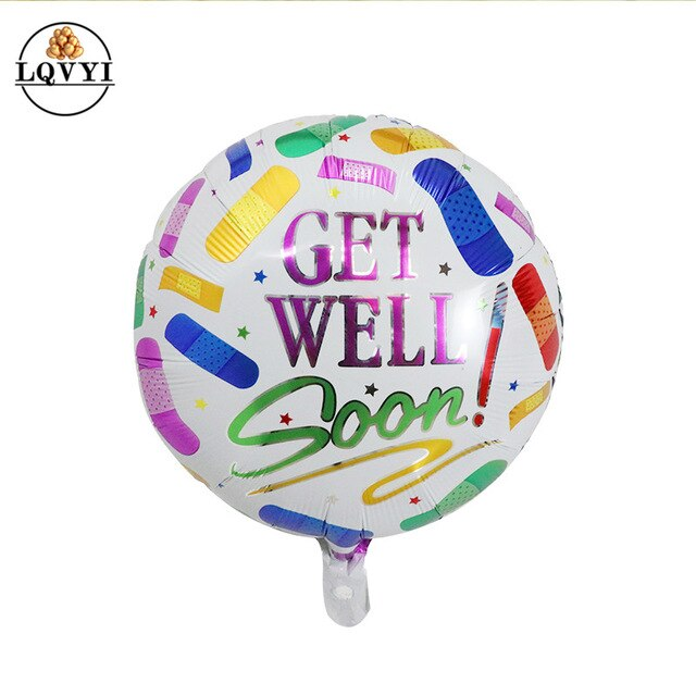 GET WELL SOON Balloons - Magic Balloons