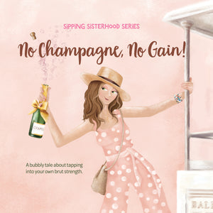 The best champagne inspired gift for all your best girlfriends.