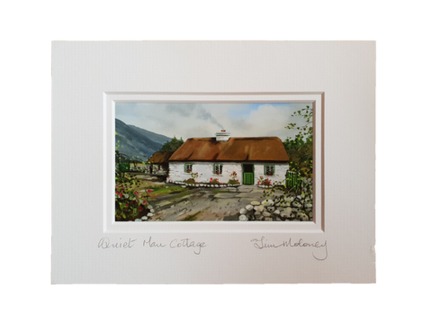 Quiet Man Cottage Print  By Tim Moloney