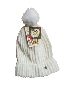 Quiet Man Beanie With Pompom