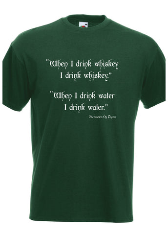 T-Shirt Water/Whiskey