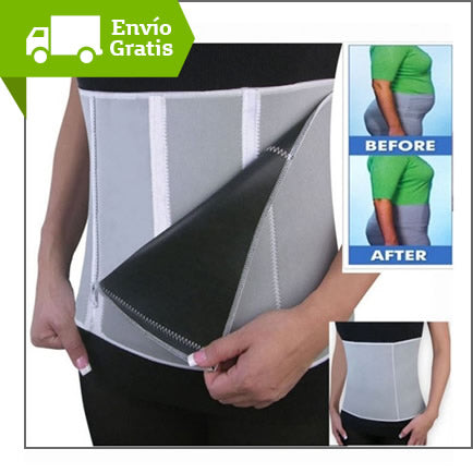 Faja Termica Reductora Ajustable Neopreno Slimming Belt