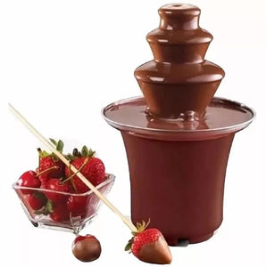 Mini Fuente De Chocolate Fondue Fountain 3 Niveles