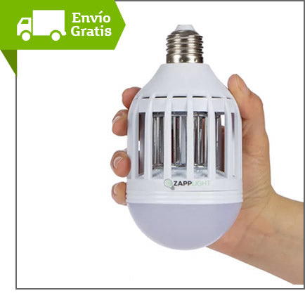 Fabuloso Repelente Mata Insectos Con Luz Led Zapp Light