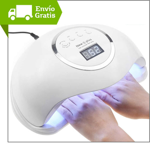 Lampara Uv-led Uñas Sun Gel Secado Rapido 72w