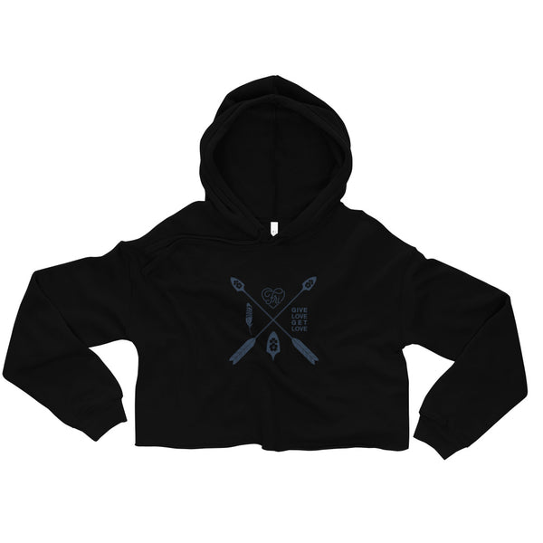 """Intentions"" Cropped Hoodie"