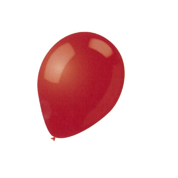 BALLOON LATEX COLOR 12in 15pcs Red
