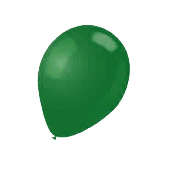 BALLOON LATEX COLOR 12in 15pcs Hunt Green