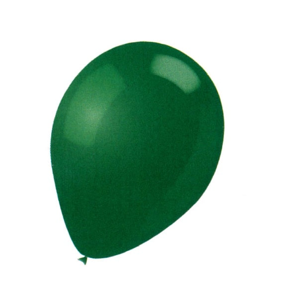 BALLOON LATEX COLOR 9in 25pcs Hunt Green