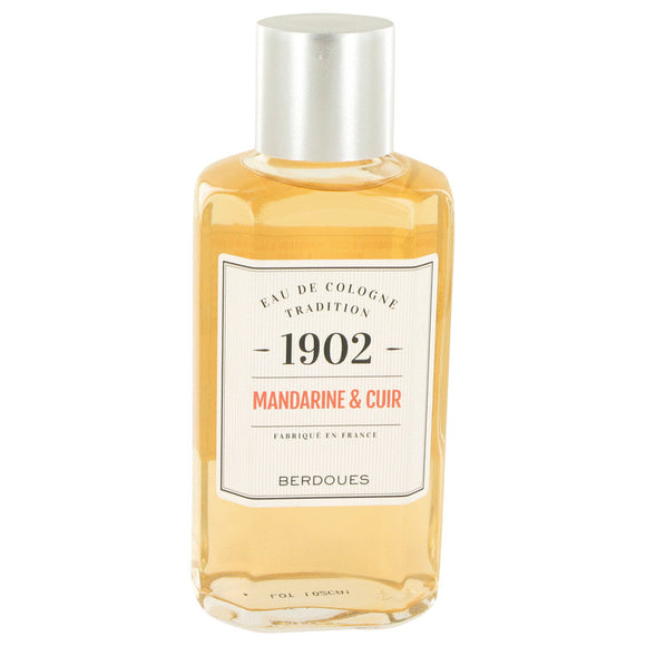 1902 Mandarine Leather Eau De Cologne (Unisex) By Berdoues